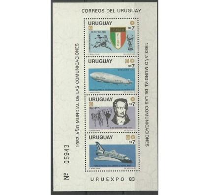 Znaczek Urugwaj 1983 Mi bl54 Czyste **