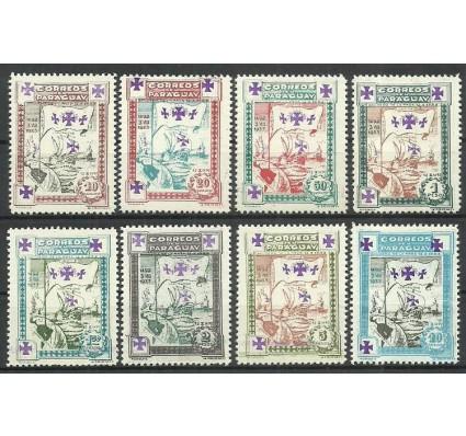 Znaczek Paragwaj 1933 Mi 419-426 Czyste **