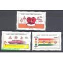 Cypr Północny 1990 Mi 286-288 Czyste **