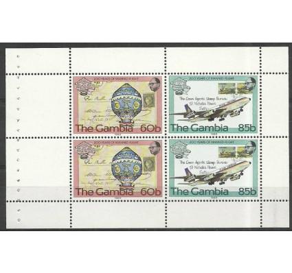 Znaczek Gambia 1983 Mi h-blatt 491-492 Czyste **