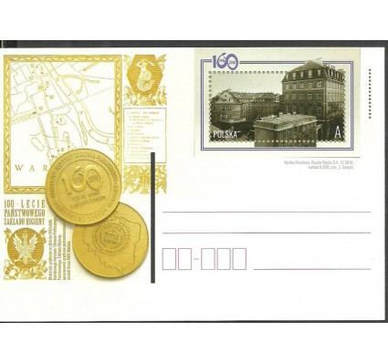Znaczek Polska 2018 Fi Cp 1805 Całostka pocztowa