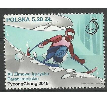 Znaczek Polska 2018 Mi 4975 Fi 4827 Czyste **