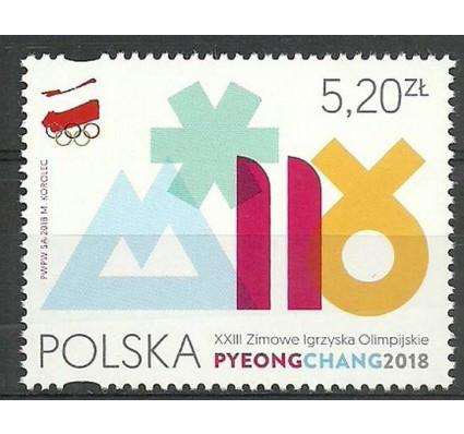 Znaczek Polska 2018 Mi 4973 Fi 4823 Czyste **