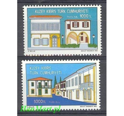 Cypr Północny 1993 Mi 359-360 Czyste **