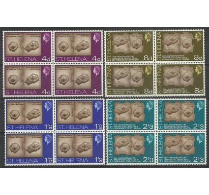 Znaczek Wyspa św. Heleny 1968 Mi 188-191 Czyste **