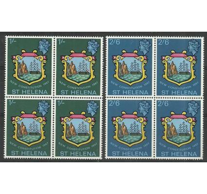 Znaczek Wyspa św. Heleny 1967 Mi 182-183 Czyste **