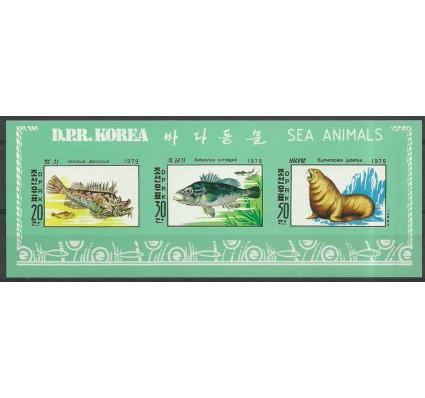 Znaczek Korea Północna 1979 Mi ark 1937-1939B Czyste **