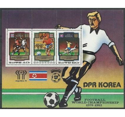 Znaczek Korea Północna 1980 Mi bl 79 Czyste **
