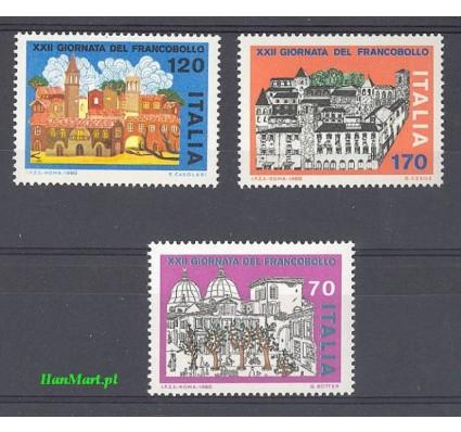 Znaczek Włochy 1980 Mi 1739-1741 Czyste **