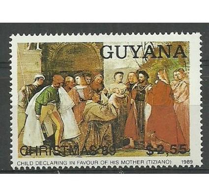 Znaczek Gujana 1989 Mi 3072 Czyste **
