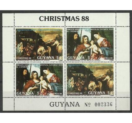 Znaczek Gujana 1989 Mi ark 2410-2411 Czyste **
