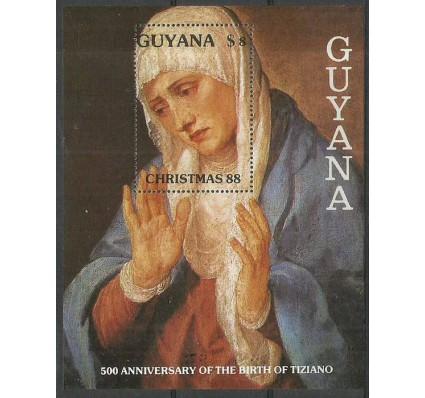 Znaczek Gujana 1988 Mi bl 26 Czyste **