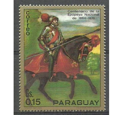 Znaczek Paragwaj 1971 Mi 2152 Czyste **