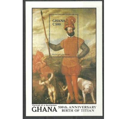 Znaczek Ghana 1989 Mi bl 133 Czyste **