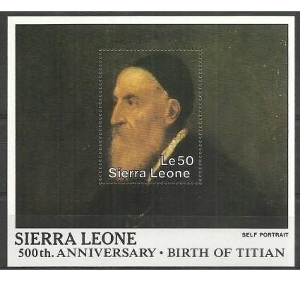 Znaczek Sierra Leone 1988 Mi bl 81 Czyste **