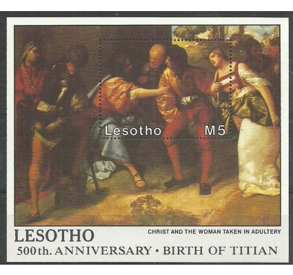 Znaczek Lesotho 1988 Mi bl 58 Czyste **
