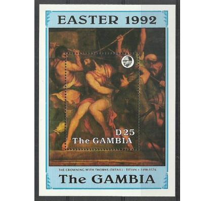 Znaczek Gambia 1992 Mi bl 149 Czyste **