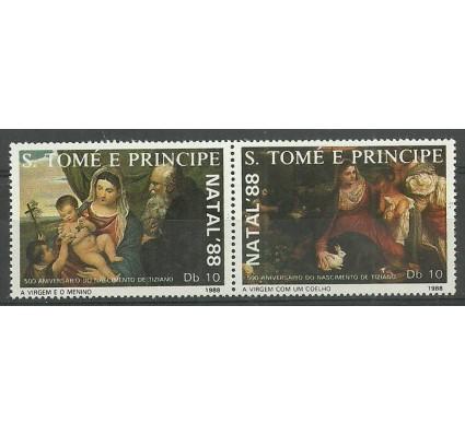 Znaczek Wyspy Św. Tomasza i Książęca 1988 Mi 1088-1089 Czyste **
