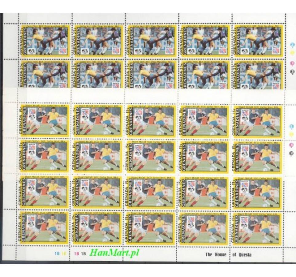 Grenada i Grenadyny 1993 Mi 1785-1792 Czyste **