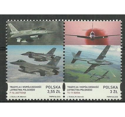 Znaczek Polska 2008 Mi 4353-4354 Fi 4203-4204 Czyste **