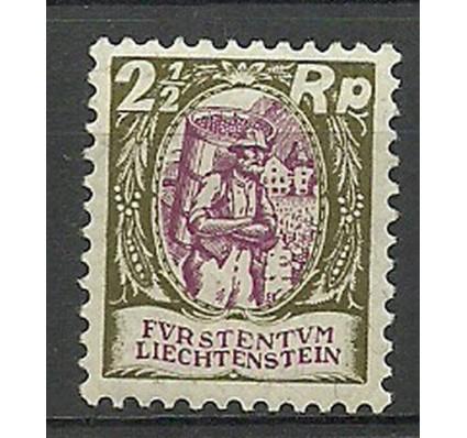 Znaczek Liechtenstein 1927 Mi 65 Z podlepką *