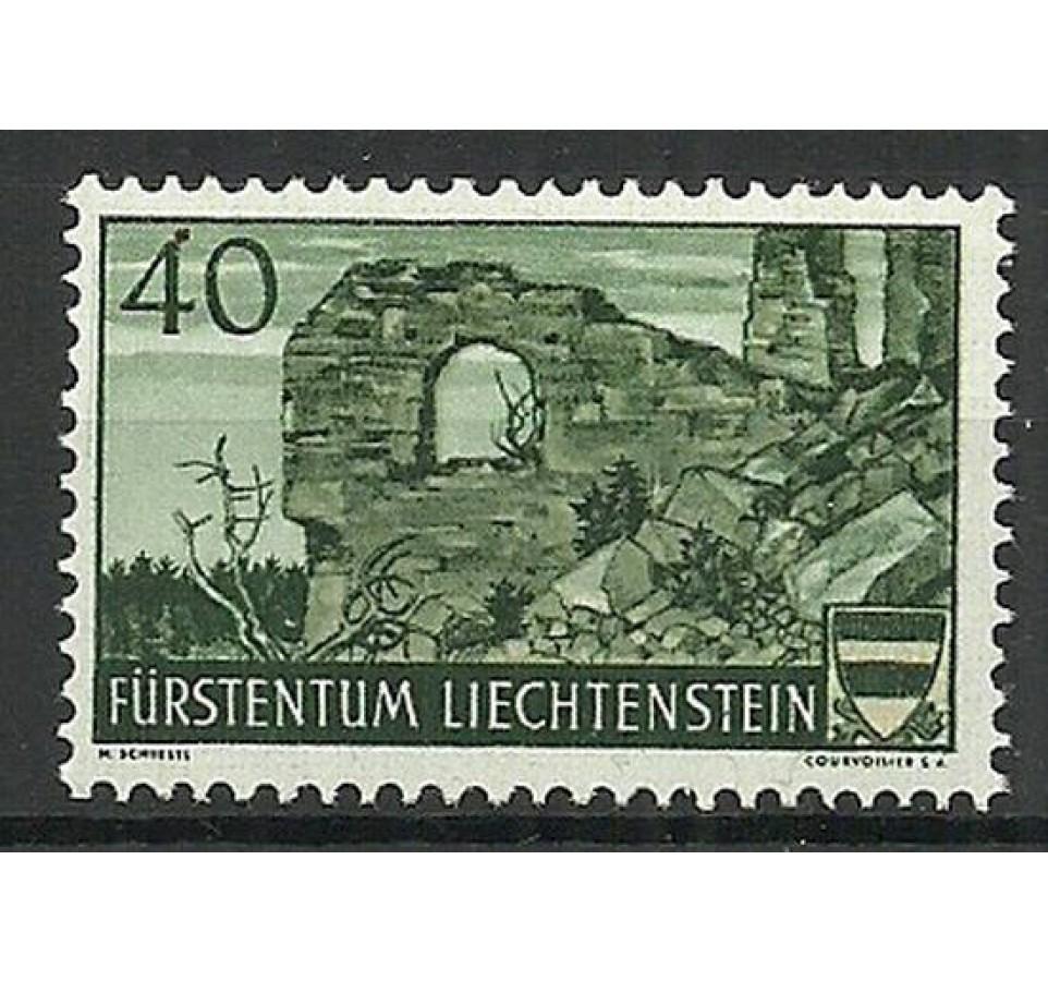 Liechtenstein 1937 Mi 163 Z podlepką *