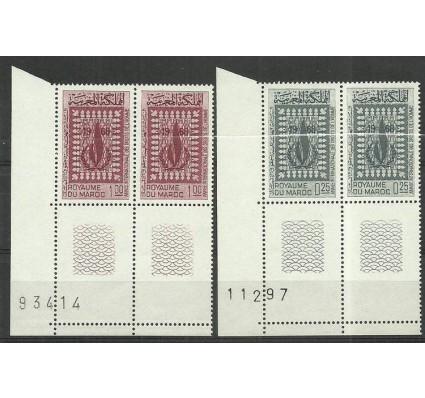 Znaczek Maroko 1968 Mi 595-596 Czyste **