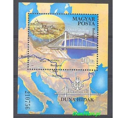 Znaczek Węgry 1985 Mi bl 176 Czyste **