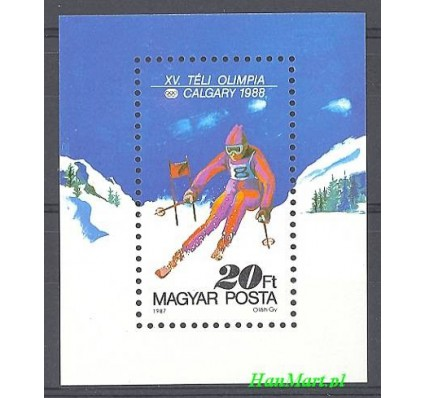 Węgry 1987 Mi bl 193 Czyste **