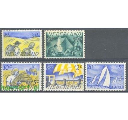 Holandia 1949 Mi 516-520 Czyste **