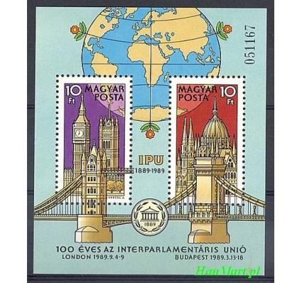 Znaczek Węgry 1989 Mi bl 202 Czyste **