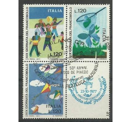 Znaczek Włochy 1977 Mi 1586-1588 Stemplowane