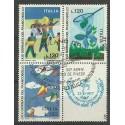 Włochy 1977 Mi 1586-1588 Stemplowane