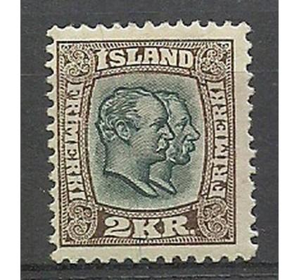 Znaczek Islandia 1907 Mi 61 Z podlepką *