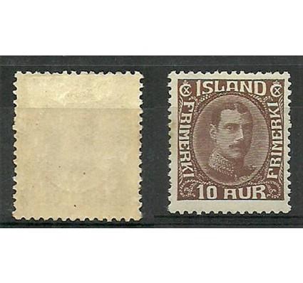 Znaczek Islandia 1931 Mi 161 Z podlepką *
