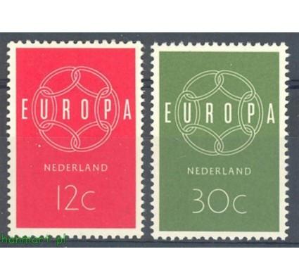 Znaczek Holandia 1959 Mi 735-736 Czyste **