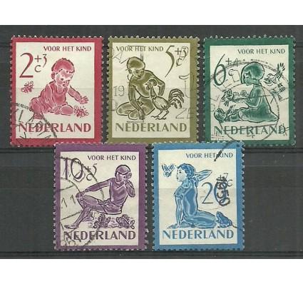 Znaczek Holandia 1950 Mi 565-569 Stemplowane