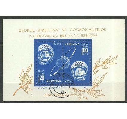 Znaczek Rumunia 1963 Mi bl 54 Stemplowane