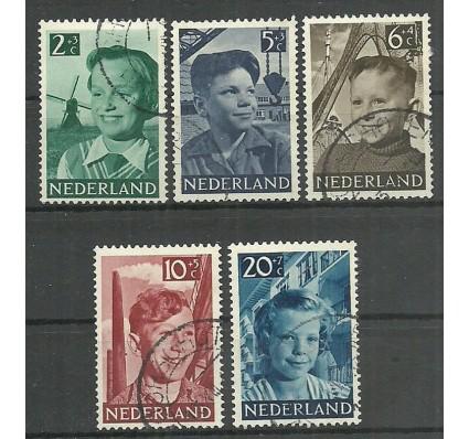 Znaczek Holandia 1951 Mi 575-579 Stemplowane