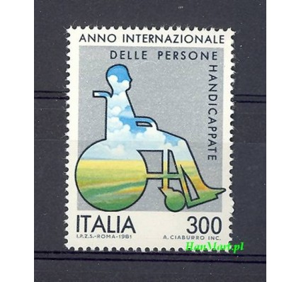 Włochy 1981 Mi 1744 Czyste **