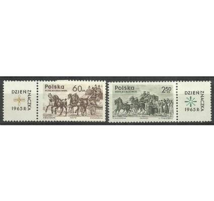 Znaczek Polska 1965 Mi zf 1621-1622 Fi zf 1480-1481 Czyste **