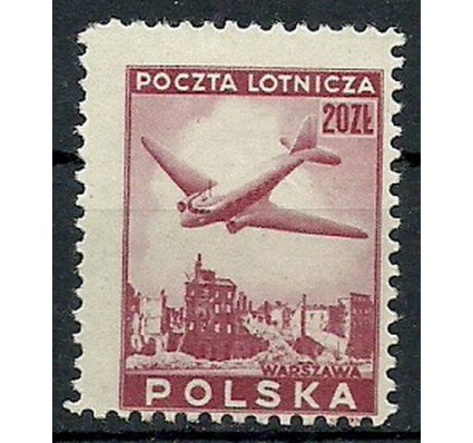 Znaczek Polska 1946 Mi 431 Fi 398 Czyste **