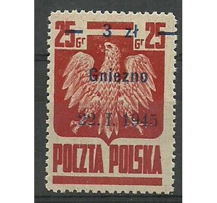 Znaczek Polska 1945 Mi 390III Fi 354 Czyste **