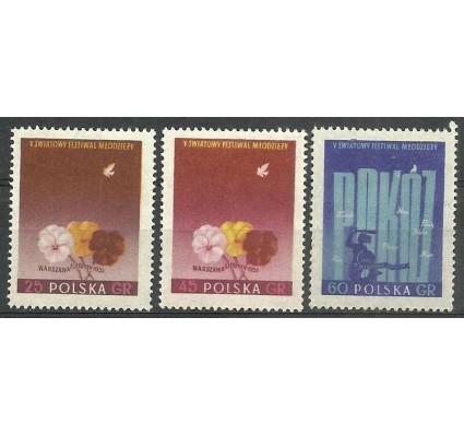 Znaczek Polska 1959 Mi 922+924+926 Fi 778+780+782 Czyste **