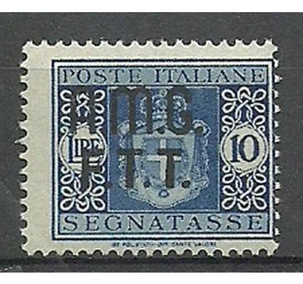 Znaczek Triest - Włochy 1947 Mi por 3 Z podlepką *