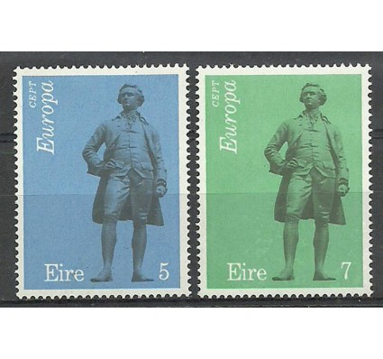 Znaczek Irlandia 1974 Mi 302-303 Z podlepką *