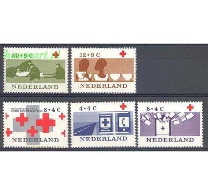 Holandia 1963 Mi 801-805 Czyste **