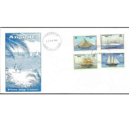 Znaczek Anguilla 1986 Mi 719-722 FDC