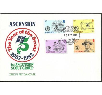 Znaczek Wyspa Wniebowstąpienia 1982 Mi 306-309 FDC