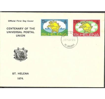 Znaczek Wyspa św. Heleny 1974 Mi 270-271 FDC
